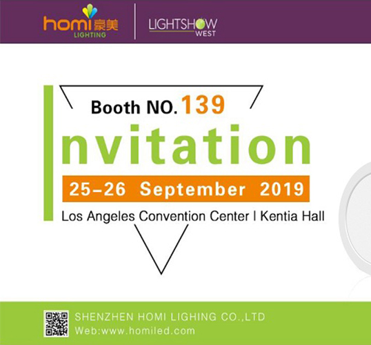 HOMI Can't Wait to See You in the 2019 LightShow West